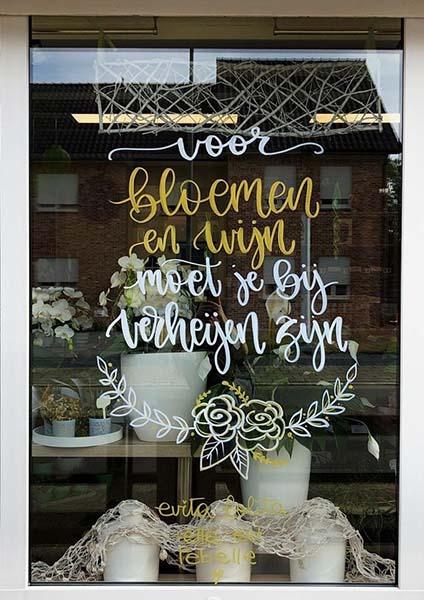 Bloemen en wijnen Verheijen Neeroeteren